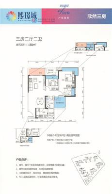 熙璟城2户型