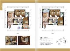 香格名苑A-CD户型
