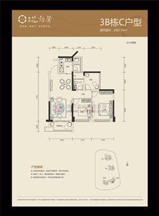 花语馨花园3B座C户型