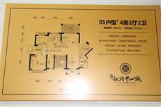 融湖中心城01户型