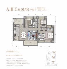 华润城A/B/C栋01/02户型