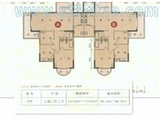 锦新明铭邸A1-5座A/B偶数户型