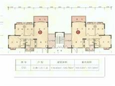 锦新明铭邸A1-5座C/D偶数户型