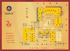 清凤创投大厦2层商业平面图