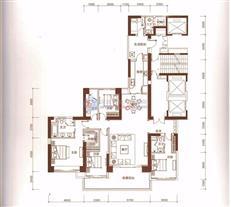 恒裕滨城二期3栋A/B户型(4-30层)