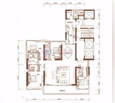 恒裕滨城二期3栋A户型(31-45层)