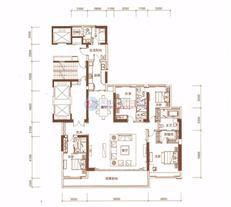 恒裕滨城二期3栋B户型(31-45层)