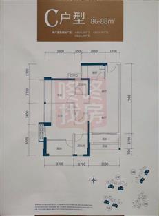 拾悦城A/C/D座03/04户型