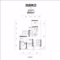 牧云溪谷四期-云峯B户型