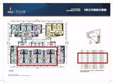 佳兆业中心单身公寓1单元02-07户型