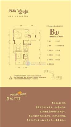万科棠樾B1户型