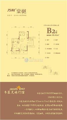 万科棠樾B2户型