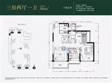 京基御景中央3/7栋A/B单元B/C户型
