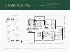 京基御景中央花园一期3/7栋A/B单元A/D户型