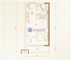 碧桂园领寓公寓A户型