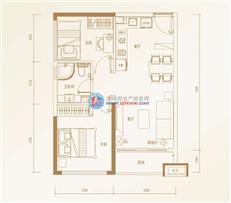 碧桂园领寓公寓B户型