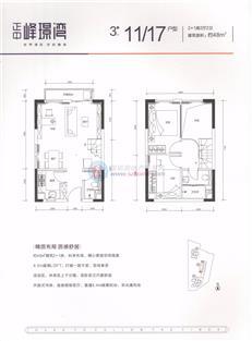 正中峰璟湾3栋11/17户型