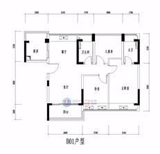 松茂·柏景湾B01户型