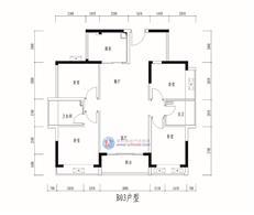 松茂·柏景湾B03户型