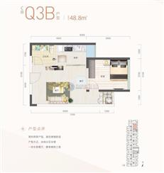 深业泰富广场C座Q3B户型