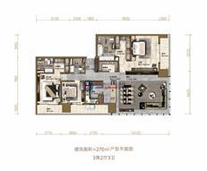 华润前海中心•悦玺C户型