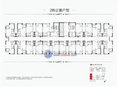 建信·天宸2栋公寓户型