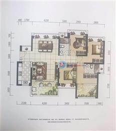 特发天鹅湖畔1B/2A/2B栋F2户型 四房及以上 125㎡