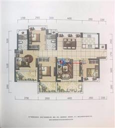 特发天鹅湖畔1B/2A/2B栋G2户型 四房及以上 142㎡