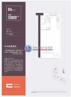 中洲滨海商业中心2栋A座10/11/B/C座22户型