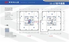 有所为大厦A/B/C座11-17层平面图