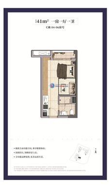 龙湖春江天玺公寓C座04/05/06户型